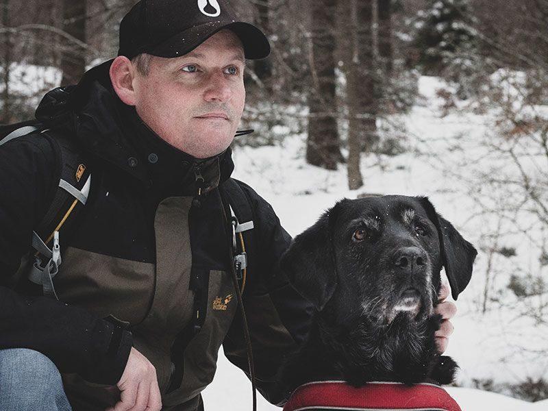 Labrador and me
